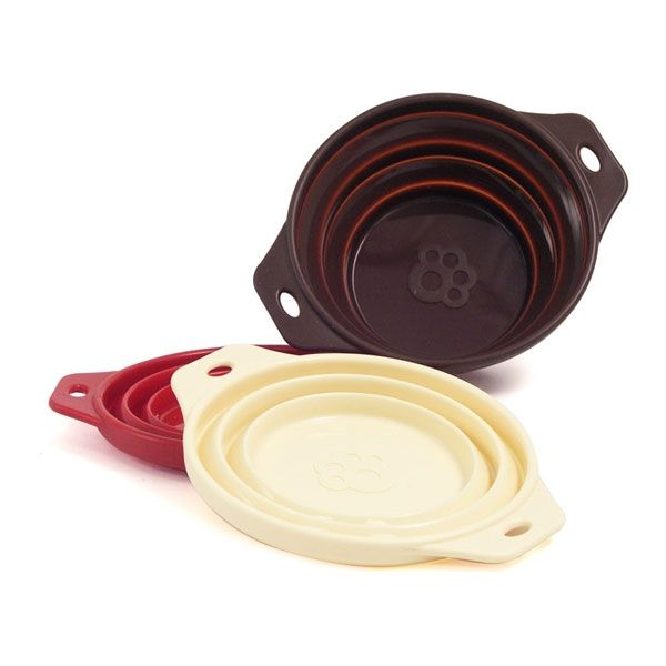 Rosewood Travel Portable Bowl Collapsible Silicone Bowl