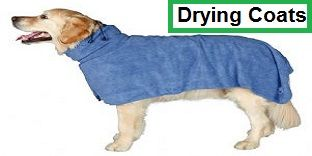 Micro fibre dog drying coats