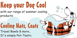keep your dog cool. cooling mats